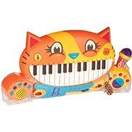 B-Toys Kočičí piáno Meowsic - Hudební hračka