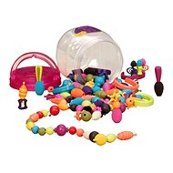 B-Toys Connecting beads and shapes Pop Arty 150 pcs - Beads