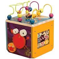 B-Toys Interaktivní krychle Underwater Zoo - Didaktická hračka