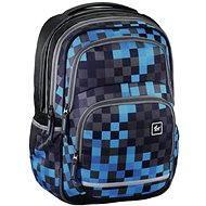 Hama All Out Blaby Blue Pixel - Školní batoh