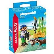 Playmobil 5376 Ochránkyně s vydrami - Stavebnice