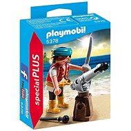 Playmobil 5378 Pirát s kanónem - Stavebnice