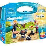 Playmobil 5649 Přenosný box - Zahradní grilování - Stavebnice