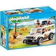 Playmobil 6798 Safari terénní auto s navijákem - Stavebnice