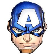 Avengers 3D polštář Cpt. Amerika - Dekorace do dětského pokoje