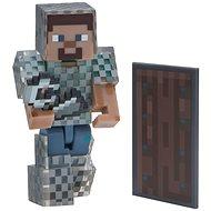 Minecraft Steve with Chain Armor - Figure
