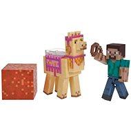 Minecraft Steve s lamou - figurka