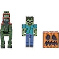 Minecraft Zombie se zombie koněm - figurka