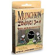 Munchkin Zombíci 3+4 - Rozšíření karetní hry