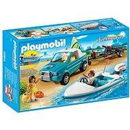 Playmobil 6864 Pickup surfaře s motorovým člunem - Stavebnice