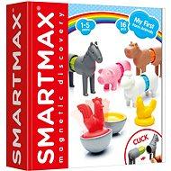 SmartMax Moje první zvířátka ze statku - Magnetická stavebnice