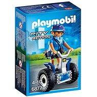 Playmobil 6877 Policistka na dvoukolce - Stavebnice