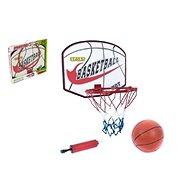Basketbalový koš s míčem a pumpičkou - Basketbalový koš