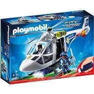 Playmobil 6921 Policejní helikoptéra s LED světlometem - Stavebnice
