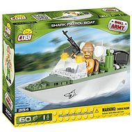 Cobi 2154 Small Army Patrolovací člun Shark