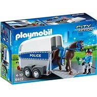 Playmobil 6922 Policejní přívěs pro koně - Stavebnice