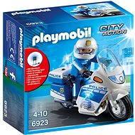 Playmobil 6923 Motohlídka s LED majáky - Stavebnice