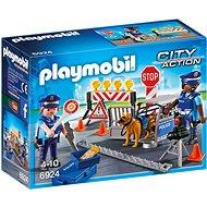 Playmobil 6924 Policejní zátaras - Stavebnice