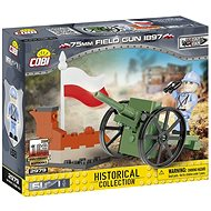 Cobi 2979 Great War 75 mm Field gun 1897 - Stavebnice