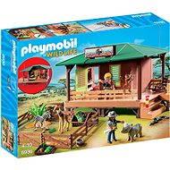 Playmobil 6936 Dům strážce parku s ošetřovnou zvířat - Stavebnice