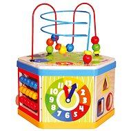 Bino Aktivní kostka 7v1 - Didaktická hračka