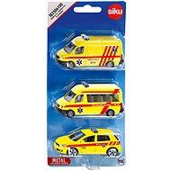 Siku Ambulance sada 3 aut CZ - Sada autíček