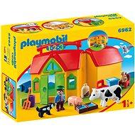 Playmobil 6962 Moje první přenosná farma - Stavebnice