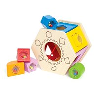 Hape Box for Geometrical Shapes - Wooden Toy