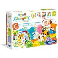Clementoni Clemmy baby Domácí zvířata - Hračka pro nejmenší