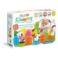 Clementoni Clemmy baby Hospodářská zvířata - Hračka pro nejmenší