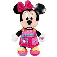 Clementoni Plyšová Minnie s kapsami - Hračka pro nejmenší