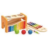 Dřevěná hračka Hape Zatloukačka s xylofonem