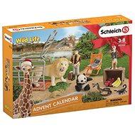 Schleich Adventní kalendář Schleich - Divoká zvířata - Herní set