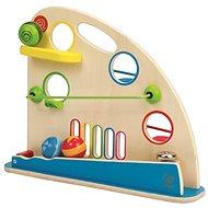 Hape Velké kuličkové prostrkávadlo - Dřevěná hračka