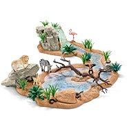 Schleich 42321 Zvířecí svět u vodopádu