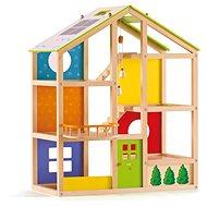 Hape Celoroční dům - Dřevěná hračka