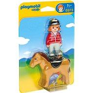 Playmobil 6973 Jezdkyně s koněm - Stavebnice