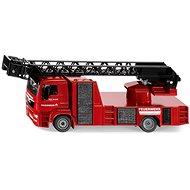 Siku Super - hasiči Man s otočným žebříkem - Kovový model
