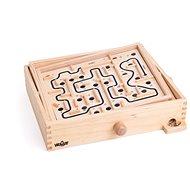 Woody Labyrint s naklápěcími rovinami s výměnými deskami - Herní set