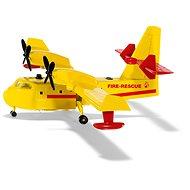 Siku Super Protipožární letadlo - Kovový model