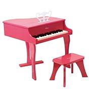 Hape Velké piano - růžové - Hudební hračka