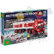 Malý konstruktér Profi - Premium Truck 10v1 - Stavebnice