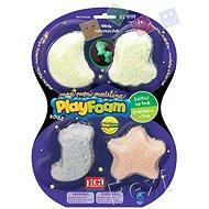 PlayFoam Boule 4pack - svítící - Modelovací hmota