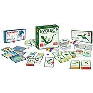 Evoluce Trilogie - O původu druhů + Čas létat + Kontinenty - Karetní hra