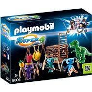 Playmobil 9006 Bojovníci Alien s pastí na T-Rexe - Stavebnice
