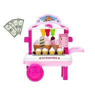 Vozík zmrzlinový - Herní set