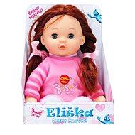Eliška brunetka - mrkací