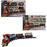 Vlaková souprava na baterie, 46x62cm - Vláček