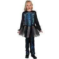 Kostra modrá - holka - Dětský kostým