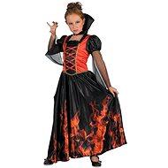 Upírka - červená - Dětský kostým